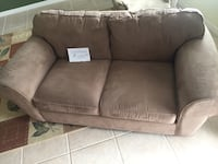 brown fabric loveseat Apopka, 32712