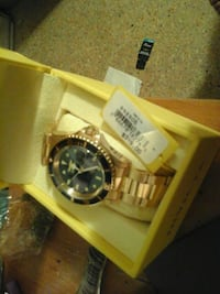 Invicta 24 k gold plated wrist watch  Clermont, 34711