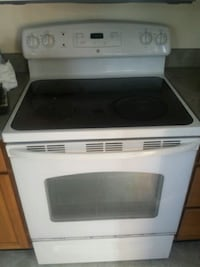 white and black induction range oven Camden, 19934