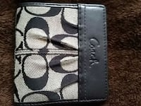 Coach wallet change purse