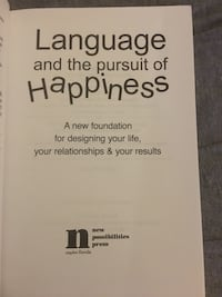 Language and the pursuit of Happiness Suffolk, 23435