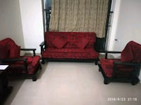 Godrej Teak Red and Black sofa set Navi Mumbai, 400708