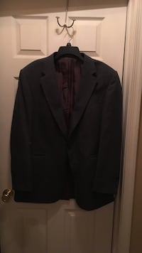 black notch lapel suit jacket Easton, 18040