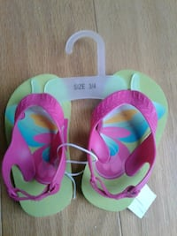 Toddler flip flops size 3/4 Woodbridge, 22193