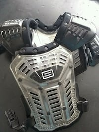 Youth (peewee) motorcycle chest protector
