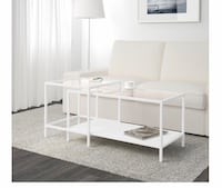 IKEA set of 2 glass coffee tables Mississauga, L5G 1H1