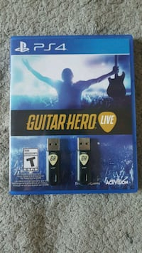 Guitar Hero Live Two Guitars PS4 Vancouver, V5L 1W4