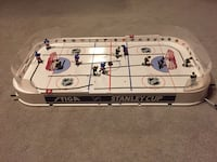 STIGA NHL STANLEY CUP TRADITIONAL TABLETOP ROD ICE HOCKEY GAME; teams: BRUINS vs RANGERS - only used COUPLE TIMES Metuchen, 08840
