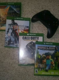 Xbox One games and controller (never used) Albuquerque, 87110