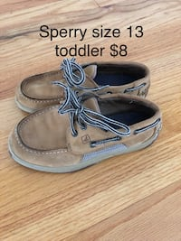 Boys toddler size 13 sperry shoes Simpsonville, 29680