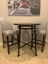 Wooden Dining Room bar table and chairs Gaithersburg, 20878