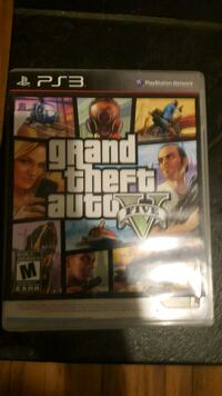 Grand Theft Auto Five PS3 Kitchener, N2N 1Y5