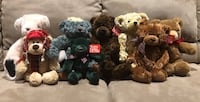 Lot of Collectable Bears Mississauga, L5N 6N8
