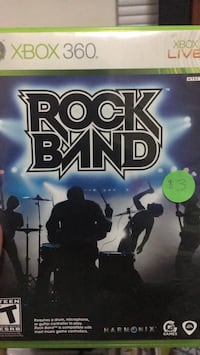 Rock Band Game for Xbox 360