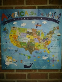 Children's wall art 21x21 inches Hickory, 28601