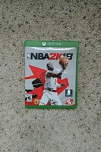 Xbox One NBA 2K18 game  San Antonio, 78249