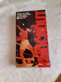 Knock Out 1988 VHS Boxing Movie Mississauga, L5R 3C7