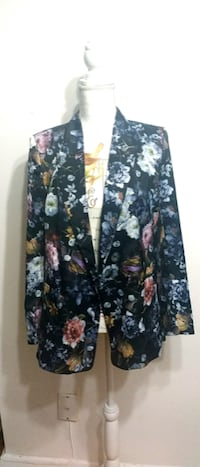(NEW W/ Tags) H&M Satin Floral Blazer -$59.99 Value! Toronto