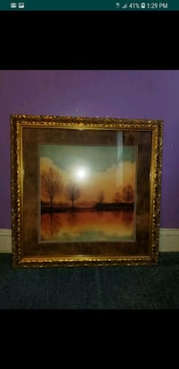 body of water and trees painting screenshot Oxon Hill
