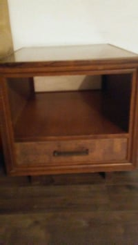 2 glass side tables for 45 o.b.o Edmonton, T5H 0T4