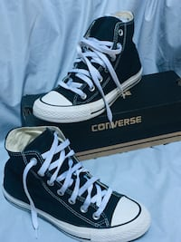CONVERSE SHOES - Black size 7 Woodbridge, 22191