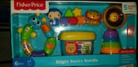 blue and yellow Fisher-Price learning toy Little Rock