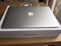 "MacBook Air 13 ""2014 Modell 4: e Gen Core i7 1,7 GHz, 8 GB, 512 GB Flash SSD MALMO"