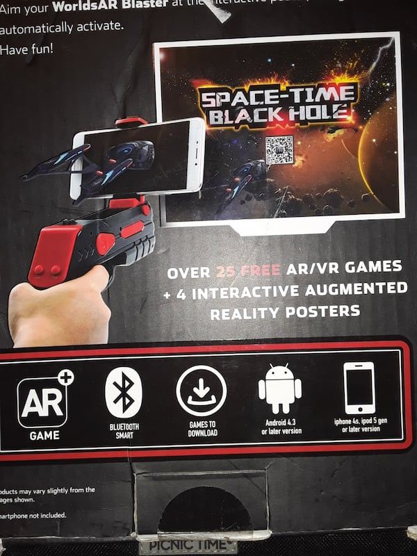 Worlds AR Augmented Reality game/ blaster edition/over 25 free games 4f0ba2dc-92c0-48cf-8c80-c8f3e2dff4e7
