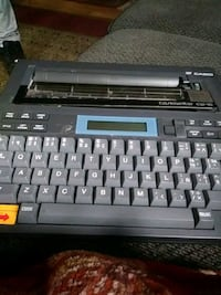 Casio typewriter