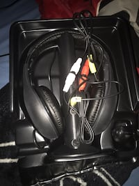 Black and red corded headphones Decatur, 30034
