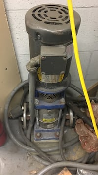 Gray and black industrial chemicals pump 3 phase  Vaughan, L4K