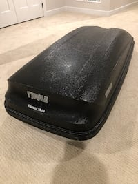 Thule Ascent 1600 Rooftop Cargo Box New Market