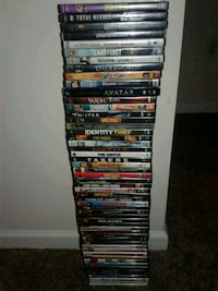 """DVDs """"54"""" Total  Anderson"""