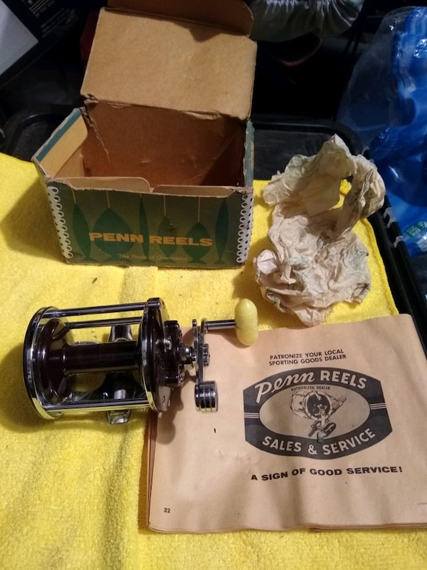 Collectors/Deep Sea Fishermen: Huge lot of vintage Penn Reels 50c65a5e-2535-48a9-9f3f-be2ed14ef370