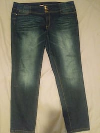 Jeans estensible taille 22