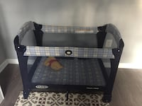 Blue  graco pack n play Alexandria, 22315