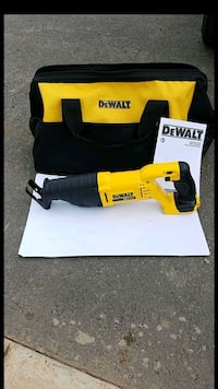 new dewalt 20v MAX sawz all with large contractors case  Chantilly
