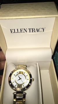 Gold-colored Ellen Tracy watch Raleigh, 27610