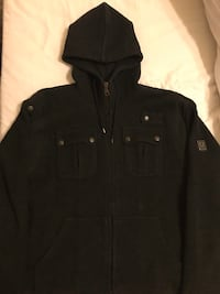 black zip-up hoodie London, SW5 9ET