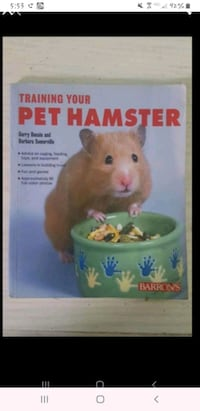 Pet Hamster care and training book