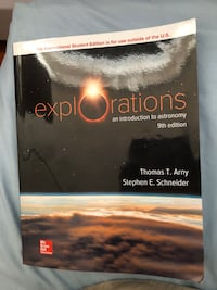 Explorations: Introduction to Astronomy 9th Edition