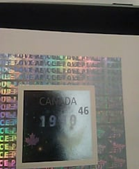 Canadian collectible stamps  3728 km