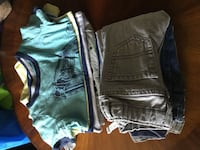 two black and blue denim shorts Torrance, 90505