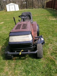 black and gray ride on mower Winchester, 22603