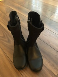 Barely worn Girls size 12 boots Calgary, T3K 0K8