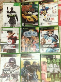 assorted Xbox 360 game case lot Pittsburgh, 15211