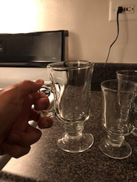 tea Glasses glass cups set of 3 Friendship Heights, 20815