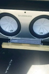 Subs and Amp for sale Vaughan, L4L 1T3