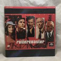 Rollercoaster LASERDISC George Segal Henry Fonda James Goldstone Thousand Oaks