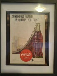 Vintage coke a cola ads from the mid 40s Cambridge, N1R 5P2